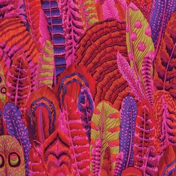 Feather Red von Philip Jacobs