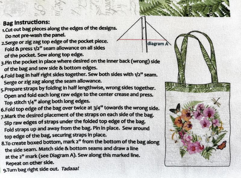 Taschen Panel Orchids in Bloom