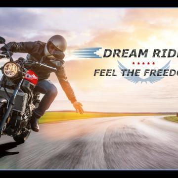 "Panel ""Dream Ride"" Feel the Freedom"