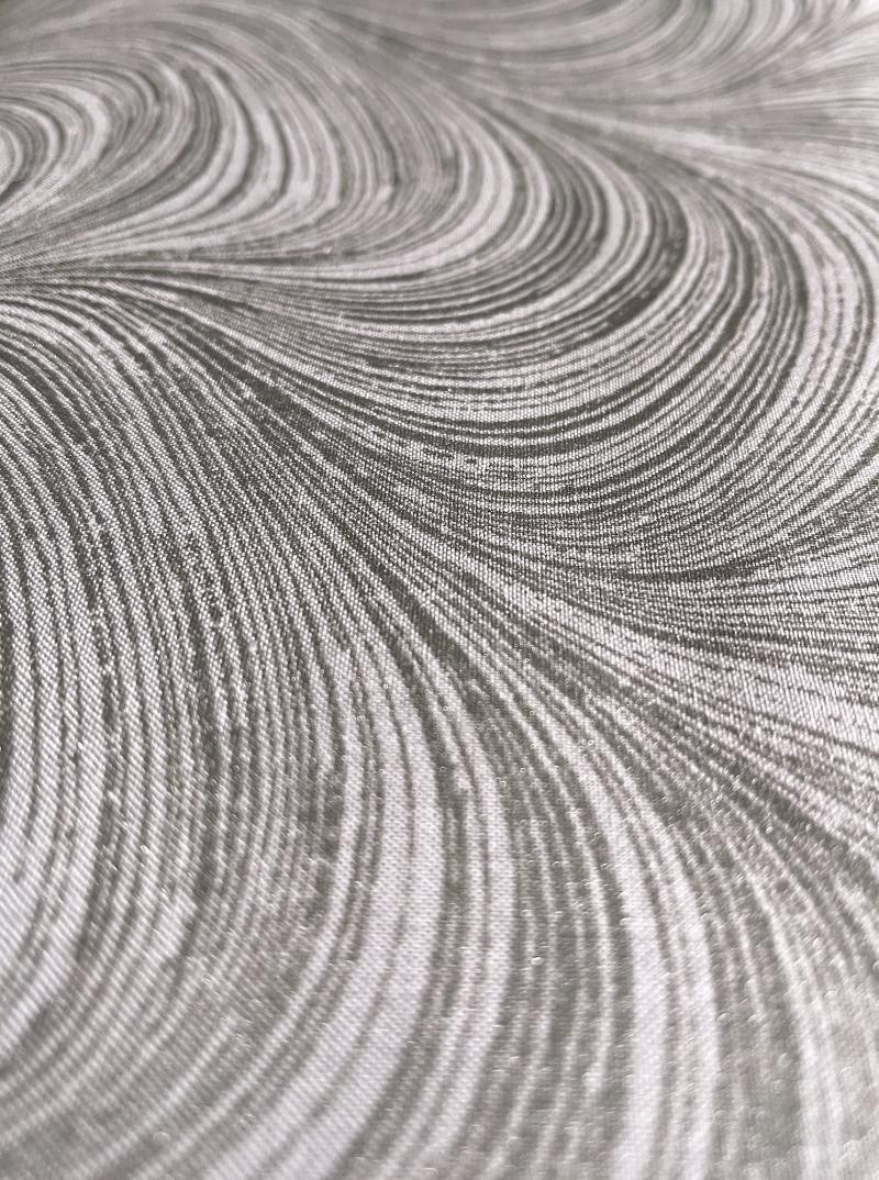 Waves Pearlescent grau silber