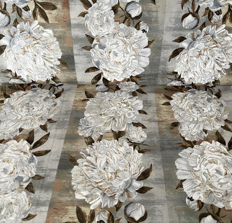 Ophelia - weiße Blüten bordürenartig