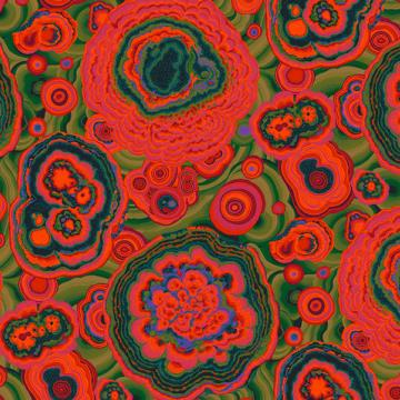 Agate rot von Philip Jacobs