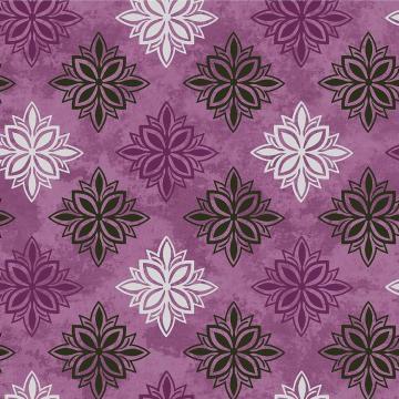Amour - Medaillon auf lila
