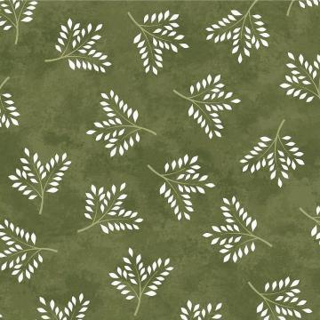 Amour - Zweige auf Grün