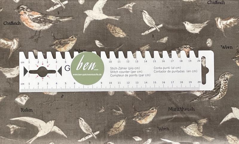 Botanicals - Vögel Graphite