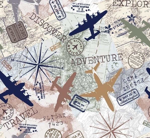 Discover - Reisekarte ivory