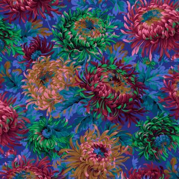 Chrysanthemen COBALT von Philip Jacobs
