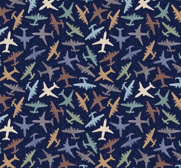 Discover - Leichtflugzeug navy