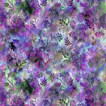 Floragraphix V - Sprigs purple