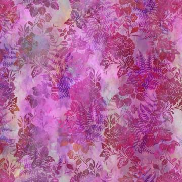 Garden of Dreams - Blooms Vivid Pink