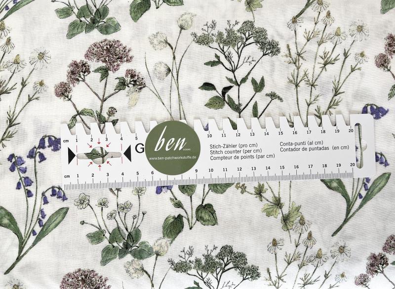 Midsummer Meadow Sweet Linen