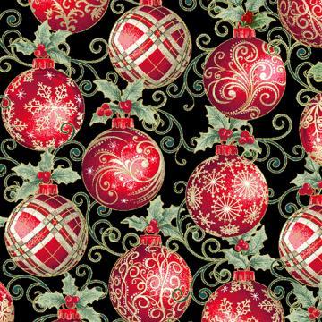 Winter Elegance - Elegant Ornaments black