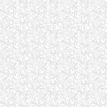 Miss Marguerite - Scroll pearl grey weiß