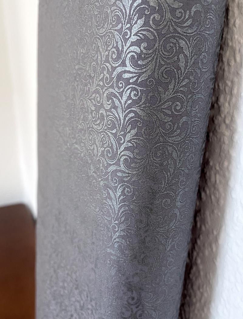 Miss Marguerite - Scroll pearl deep grey