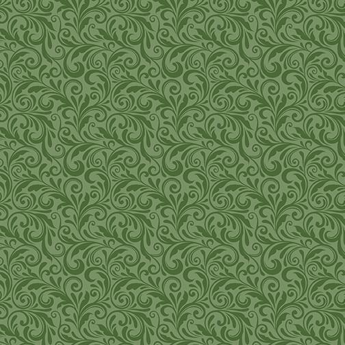 Miss Marguerite - Scroll pearl deep leaf
