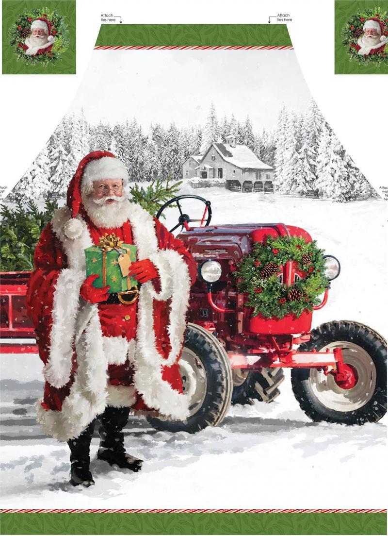 Panel - Her Comes Santa