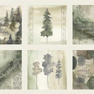 Panel Forest Retreat