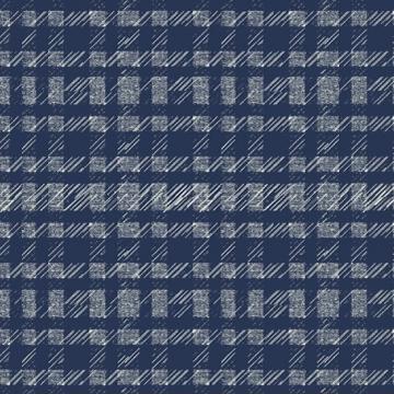 Pottery - helle Karozeichnung auf blau