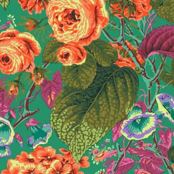 Rose and Hydrangenas Grün von Philip Jacobs