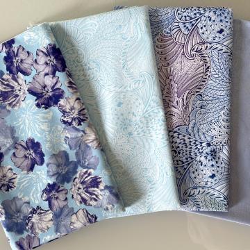 Stoffpaket Violet Blue