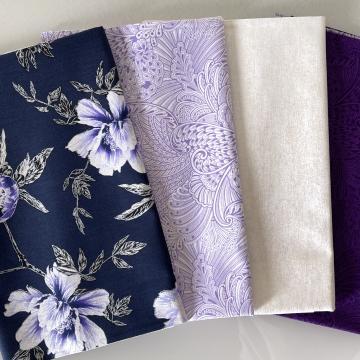 Stoffpaket Violet Dark Lilac