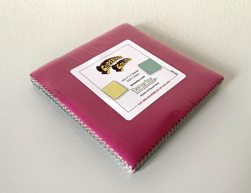 """Superior Solids Charm Pack 5""""x5"""""""