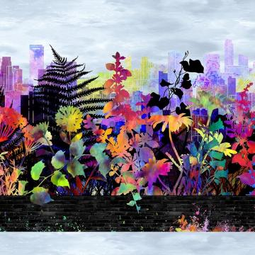 Urban Jungle - Bordüre