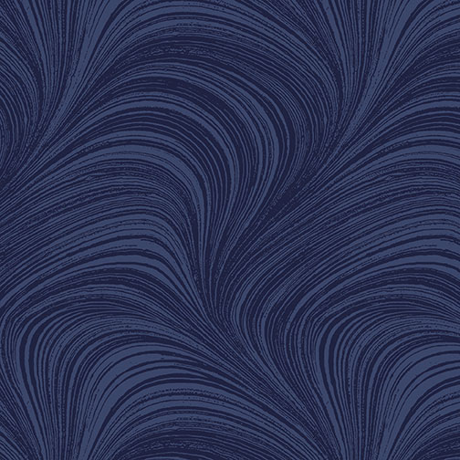 Waves Texture  navy