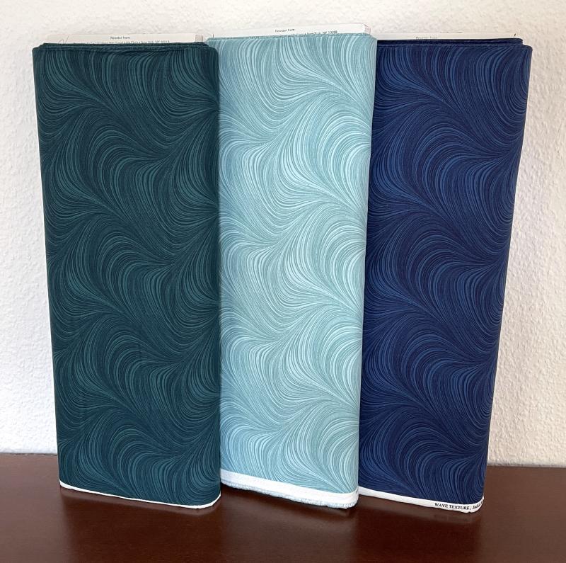Waves Texture light teal