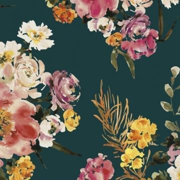 Wildflower - Teal