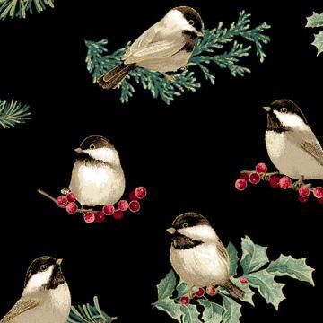 Winter Elegance - Winter Meisen black