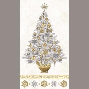 White Christmas Panel