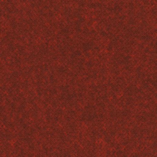 Winter Wool Flannel - chili